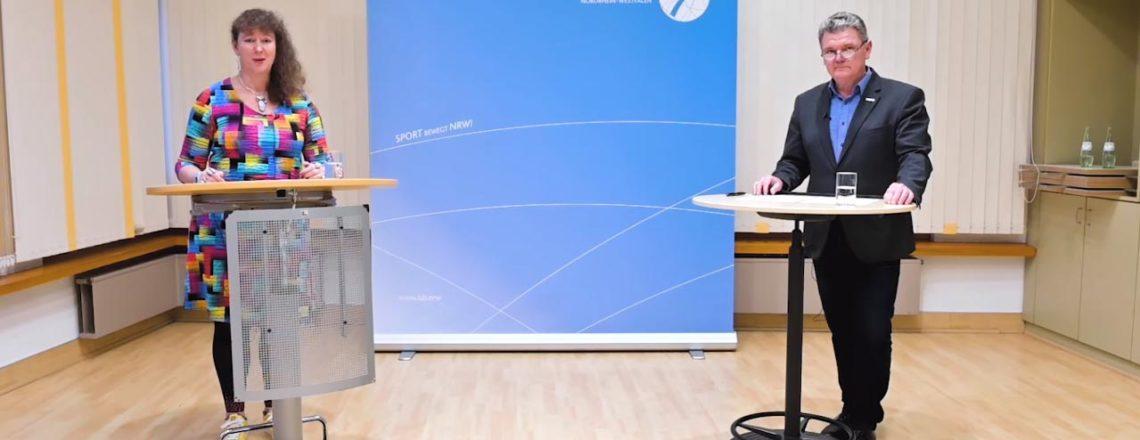 LSB NRW richtet sich mit Videobotschaft an Sportvereine