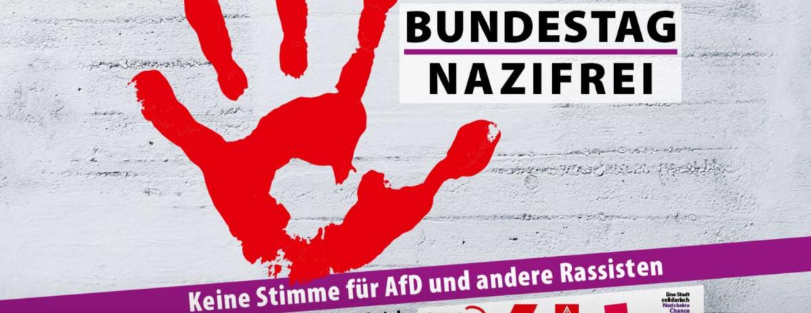 """""""Bundestag nazifrei!"""""""